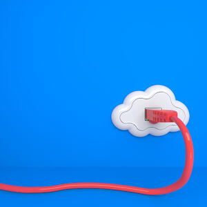 Cloud Computing Concept. The Future - Everything from Socket