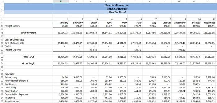 Excel Tips - Freeze Panes3