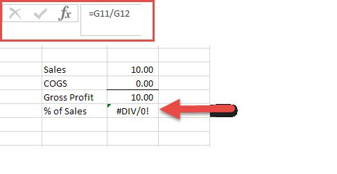 Excel Tips - IFERROR1