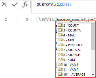 Excel Tips - Subtotals3
