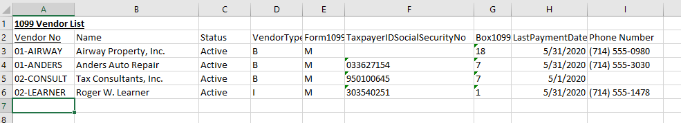 Export to Excel from Sage 100