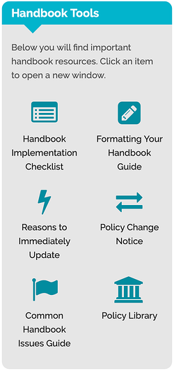 Maintain Your Employee Handbook with the Handbook Tools