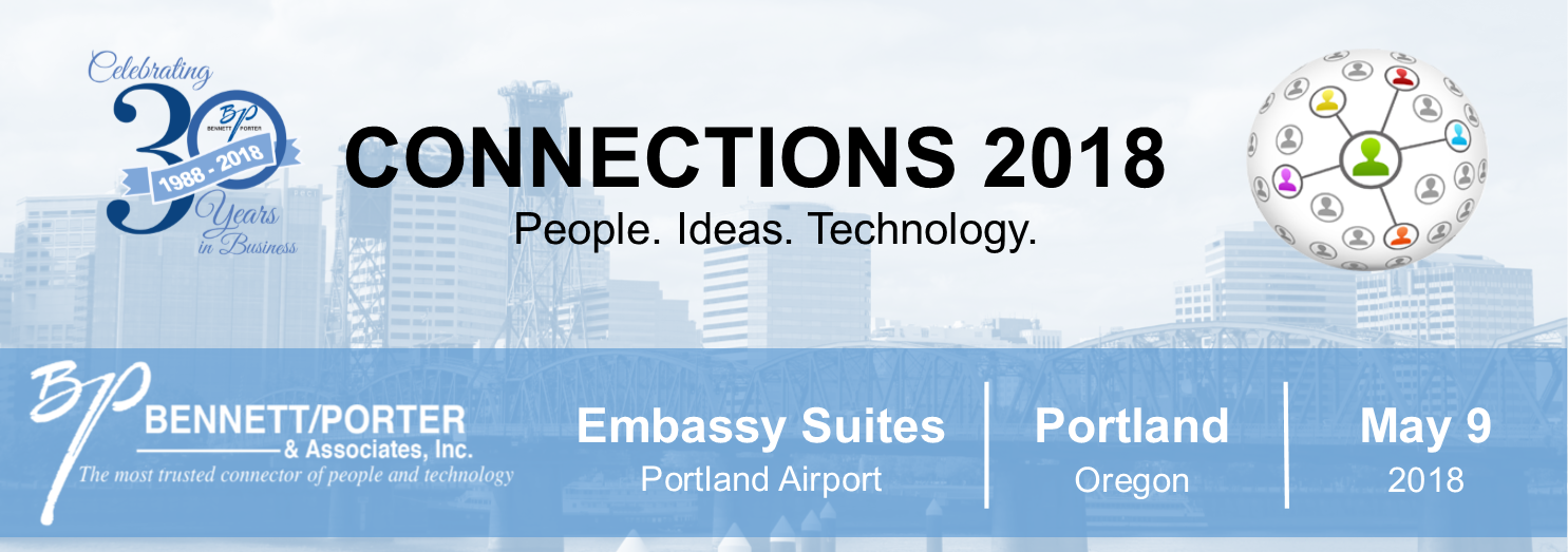 Connections 2018 Conference Update Session Tracks