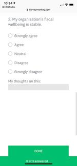 Mobile Employee Engagement Survey