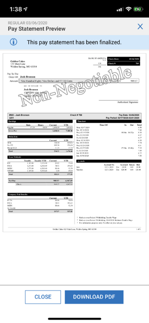 Remote HCM-2aRemote Human Capital Management Pay Statement