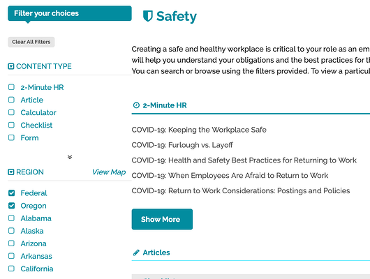 workplace health and safety 2-minute HR people savvy HCM essentials